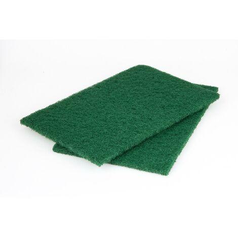 2 almohadillas de fieltro para lijar madera 150 x 230 mm Wolfcraft Grano 360
