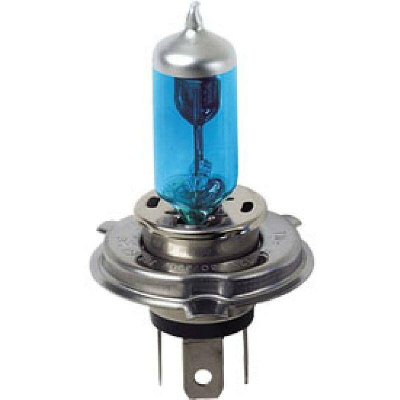 2 Ampoules H4 effet Xenon Blu-XE 12V 6055W
