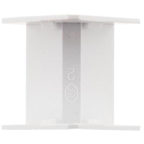 2 angles intérieurs Blanc - 20x10 ou 30x10 (hauteur x profondeur, en mm)