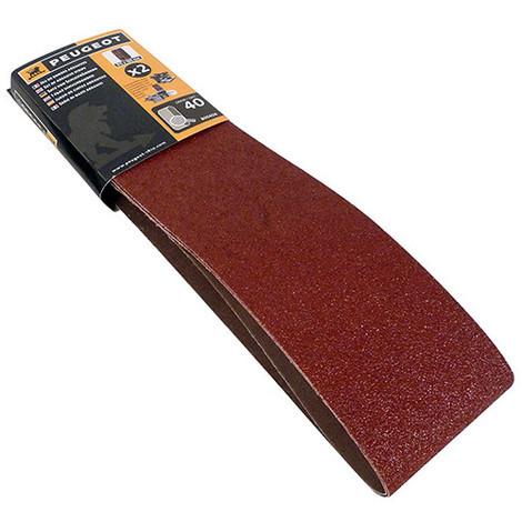 2 bandes abrasives 915 x 100 mm Grain 40 pour ENERGYSAND 150 et 200ASP - 805406 - Peugeot - -