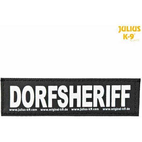 2 Bandes auto-agrippantes DORFSHERIFF Taille S - Julius-K9