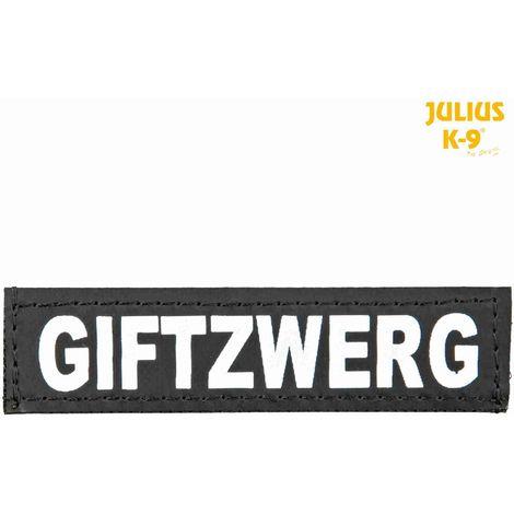 2 Bandes auto-agrippantes GIFTZWERG Taille XS - Julius-K9
