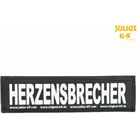 2 Bandes auto-agrippantes HERZENSBRECHER Taille S - Julius-K9