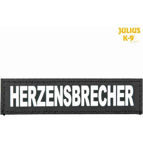 2 Bandes auto-agrippantes HERZENSBRECHER Taille XS - Julius-K9