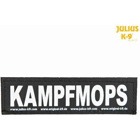 2 Bandes auto-agrippantes KAMPFMOPS Taille S - Julius-K9