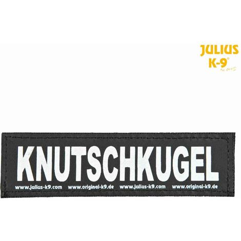 2 Bandes auto-agrippantes KNUTSCHKUGEL Julius-K9 - L