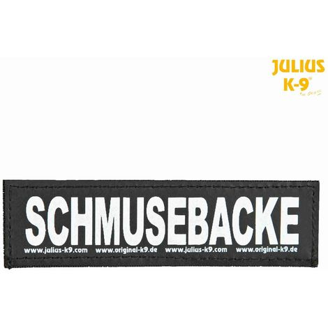 2 Bandes auto-agrippantes SCHMUSEBACKE Julius-K9 - L