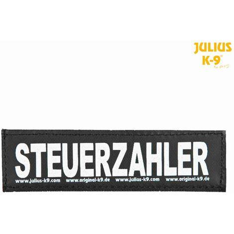 2 Bandes auto-agrippantes STEUERZAHLER Taille S - Julius-K9