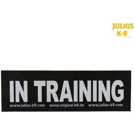 2 Bandes IN TRAINING auto-agrippantes Julius-K9 - L