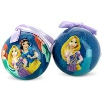 2 BOULES DE NOEL DISNEY PRINCESS