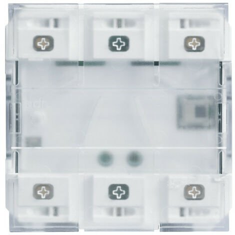 2 boutons poussoirs KNX LED+IR gallery (WXT322)