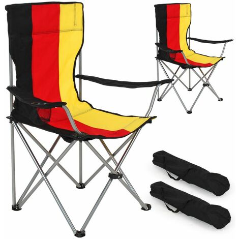 2 Camping chairs - folding chair, fold up chair, folding camping chair