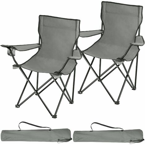 2 Camping chairs Gil - garden chairs, outdoor chairs, folding garden chairs