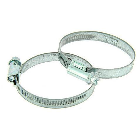 2 colliers de serrage métallique type Serflex D. 40 à 60 mm - XL Tech