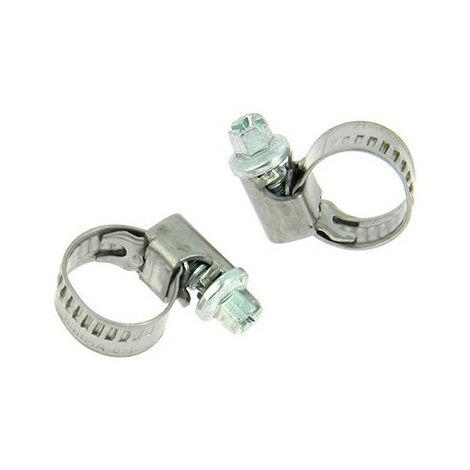 2 colliers de serrage métallique type Serflex D. 8 à 12 mm - XL Tech