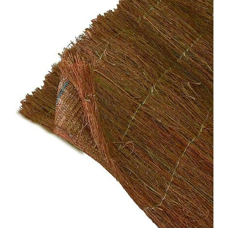 2 couches de bruyère + 1 brise-vue tissé TRIOBRUC - 1 x 3 m