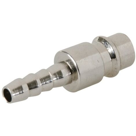 2 coupleurs Euro pour tuyau air comprimé - Extrémité 8 mm