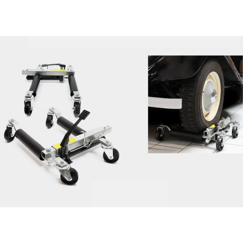 Bigb - 2 crics chariot de deplacement go jack voiture 680kg WC