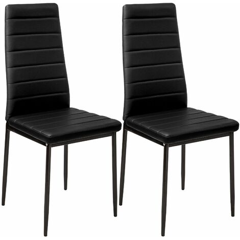 2 dining chairs synthetic leather - dining room chairs, kitchen chairs, dining table chairs