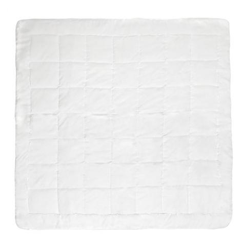 2 Duvets microfibre 4 seasons 200x200cm - double duvet, quilt, summer duvet - white