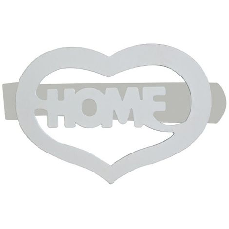 2 Embrasse Pince home 120 x 65 mm Coloris - Blanc