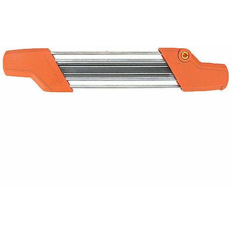 2 en 1 Easy File Chainsaw Easy File Chain Grinding Tool Afilador de cadenas 3 / 8p 4.0mm para STIHL 56057504303 Hasaki