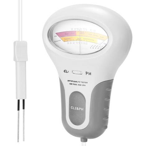 2 en 1 PH cloro Meter Tester PC-102 PH Tester cloro de Pruebas de Calidad del Agua CL2 dispositivo de medicion para piscina acuario