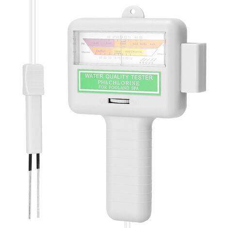 2 en 1 PH cloro probador del metro de PC-101 PH probador de cloro de Pruebas de Calidad del Agua CL2 dispositivo de medicion para piscina acuario
