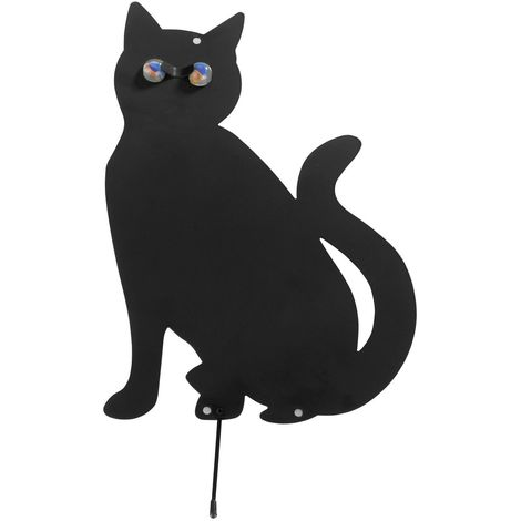 2 Epouvantails Chat - Noir