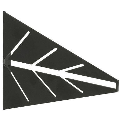 2 Escuadras para estantes ARROW: de estilo decorativo, fabricada en acero y con acabado negro mate.