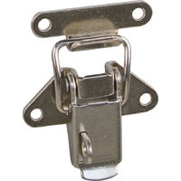 2 fermetures de coffre à levier porte-cadenas 18x15 mm