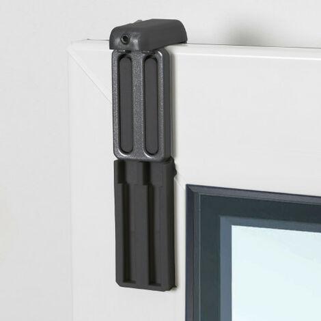 2 Fixations à serrer pour fenêtre avec aération - U17-U18-U21