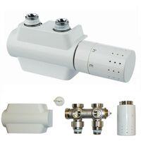 2 fois Multi Bloc BUDERUS universel Logafix Design Robinet radiateur de salle de bain 7738320548