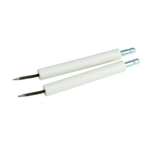 2 Fuel burner electrodes (X 2) - ATLANTIC : 000006