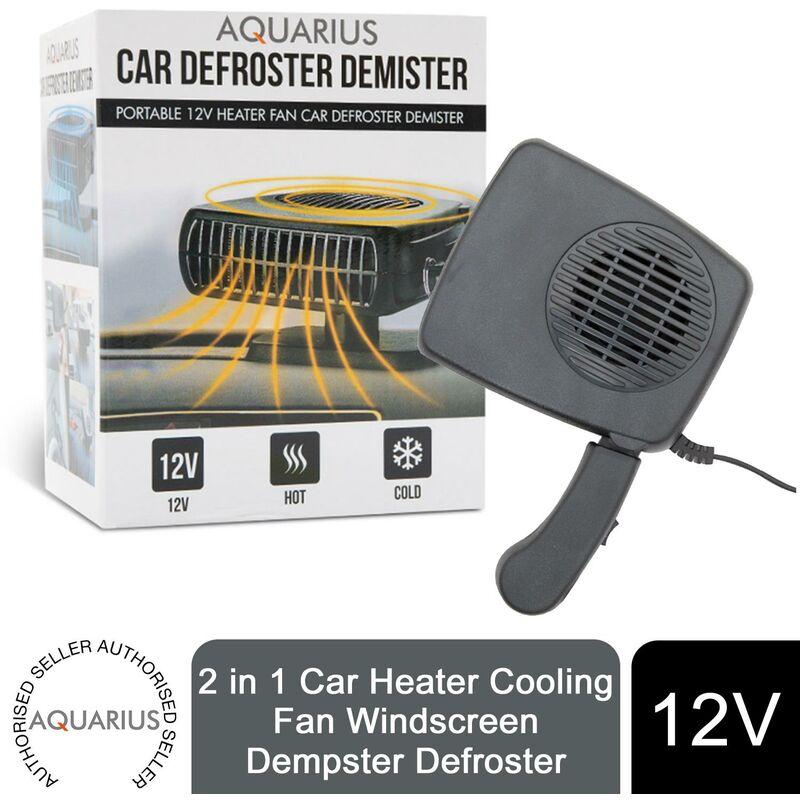 Image of 2 in 1 Car Heater Cooling Fan Windscreen Dempster Defroster