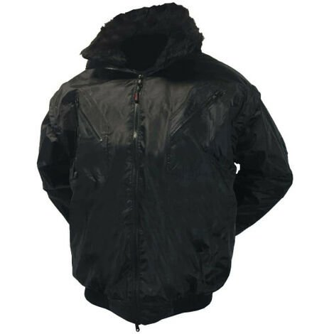 2 in 1 COVERGUARD zefly parka - black - Size 3XL