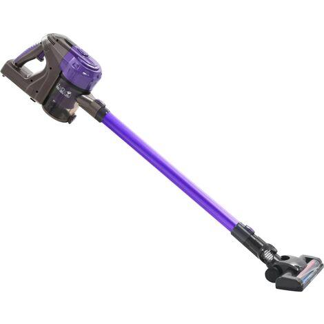 2-in-1 Multi-cyclone Cordless Hand Vacuum Cleaner 120 W Purple