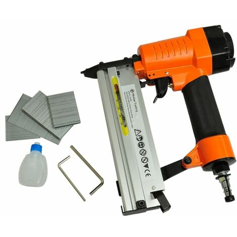 2-in-1 Pneumatic Air Powered Nailer Stapler