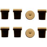 2 jeux de 4 Buses céramique noires pour Pistolet Sableuse 38-76L : 2,5mm