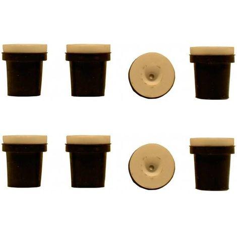 2 jeux de 4 Buses céramique noires pour Pistolet Sableuse 38-76L : 3,5mm