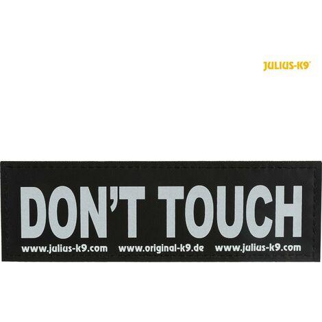 2 Julius K9 bandes auto agrippantes S - DON'T TOUCH