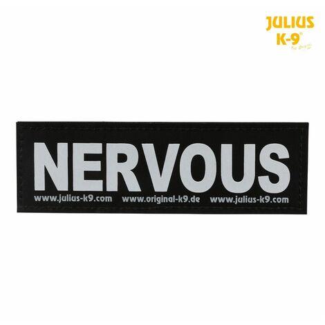 2 julius-k9® bandes auto-agrippantes - S, nervous