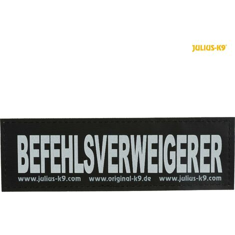 2 Julius K9 bandes auto agrippantes taille L - BEFEHLSVERWEIGERER