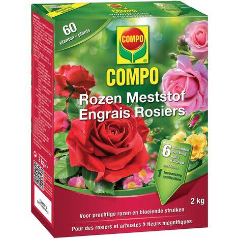 2 kg de fertilizante rosas Compo
