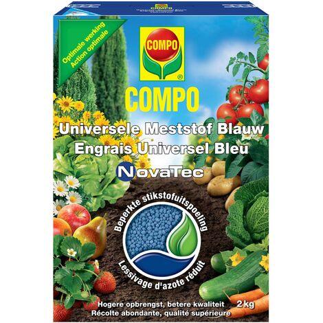2 kg de fertilizante universal Compo Novatec Azul