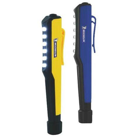 Et 2 Aimantées1 Bleue Poche Lampes Stylo Michelin De Jaune bYf76gy