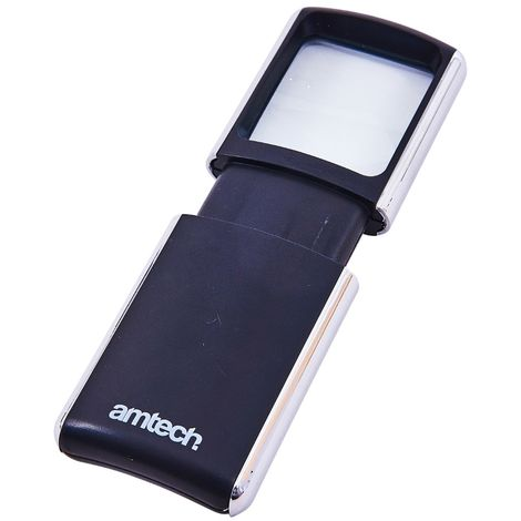 2 Led Pocket Magnifying Glass