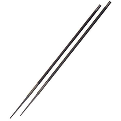 2 limes pour chaîne de tronçonneuse D. 5/32 - 4 mm L.200 mm - 449.40 - PG Professional