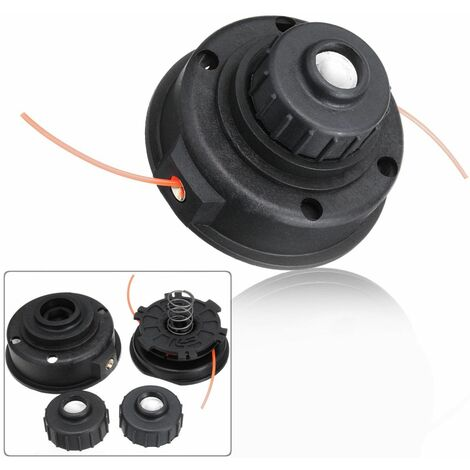 2-Line Universal Spool Trimmer, Black Trimmer Head Trimming For RYOBI EXPAND-IT