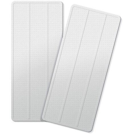 2 lingettes pour balai SMART MOP COMPACT - Gris - Gris